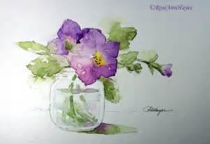 watercolor paintings by roseann hayes november 2011