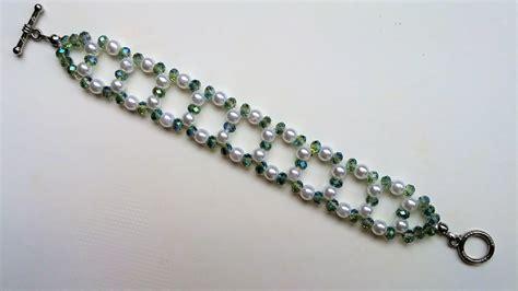 beginning jewelry easy and diy bracelet beaded bracelet pattern for
