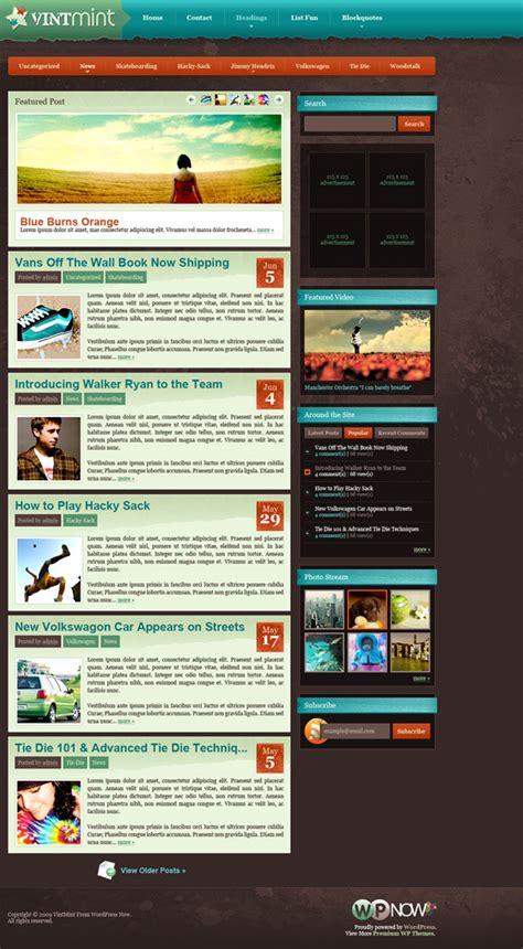 wordpress themes design inspiration share 73 blog designs 学步园