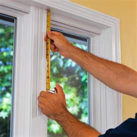 measure windows for blinds measuring window shades free images at clker
