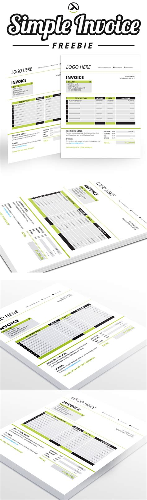 28 invoice template ai invoice template illustrator