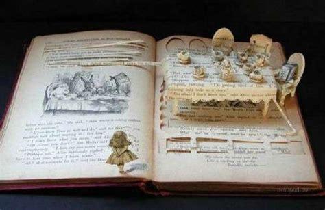 libro grandpas surprise carved books novel art recycling