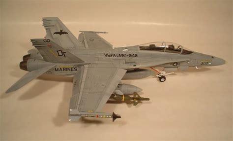 Hasegawa 1 48 07203 F A 18d Hornet Attack 1 48 hasegawa f a 18d hornet vmfa aw 242 bats by jeff fuerte