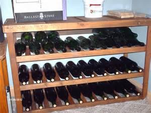 wine rack plans woodideas