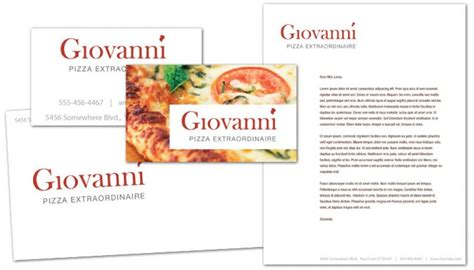 pizza business card template business card template for pizza restaurant order custom