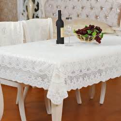 Dining Table Cloth Rectangle White Fabric Square And Rectangle Dining Table