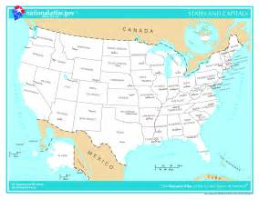 Us Map With States And Capitals by Geography Blog Us Maps With States