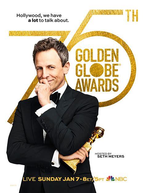Golden Globes 2018 Printable Ballot