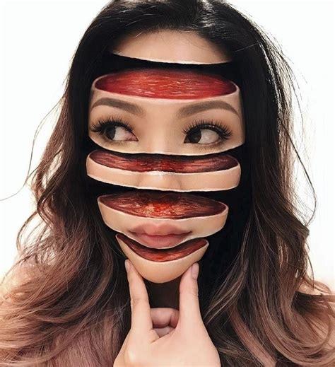 ilusiones opticas neurologia ilusi 243 n 243 ptica y maquillaje dos t 233 cnicas que esta artista