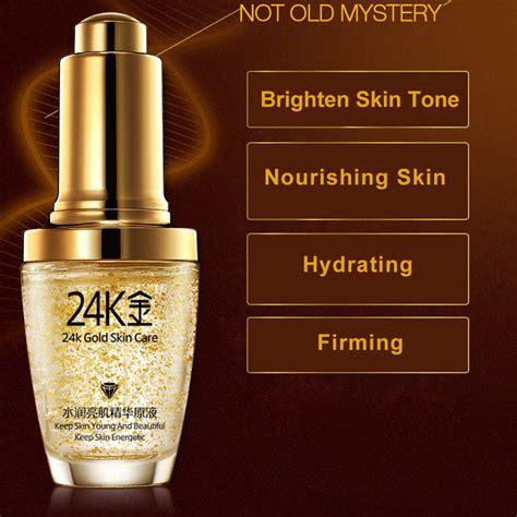 bioaqua serum wajah  gold essence ml golden