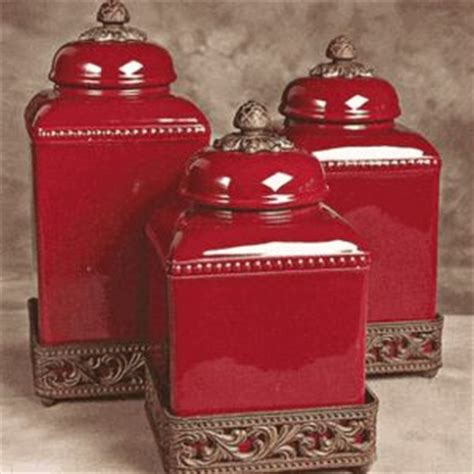 tuscan style kitchen canister sets red tuscan style canisters tuscan decor pinterest