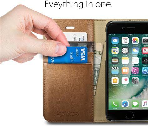 Spigen Wallet S For Iphone 7 Brown spigen wallet s apple iphone 7 brown iphone 7 zwart specificaties tweakers