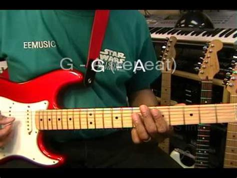 michael jackson human nature guitar lesson part one how to