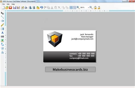make a buisness card free program make business cards free