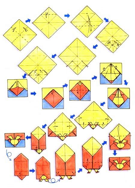 Most Popular Origami Designs - diagramme d origami d enveloppe lapin origami box
