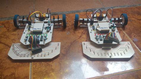 Robot Line Tracer Follower R8 With 16 Sensor Spec Lomba Green Edition Robot Line Follower Line Tracer 16 Sensor Spek Lomba
