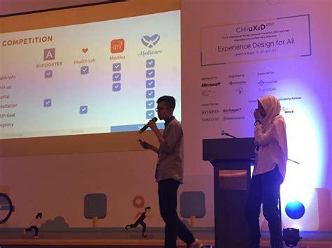 indonesia design challenge tim medicare mewakili itb pada babak final chiuxid 2017