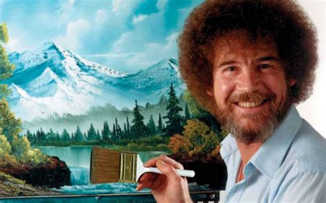 bob ross painting review 5 things you ll do bob ross while high leafly