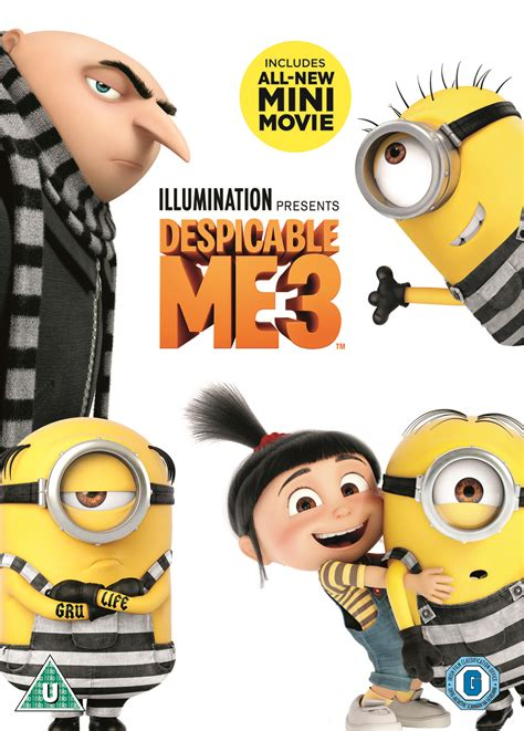 Despicable Me 11 8311529 11 despicable me 3 uk dvd retail o ring 2pa