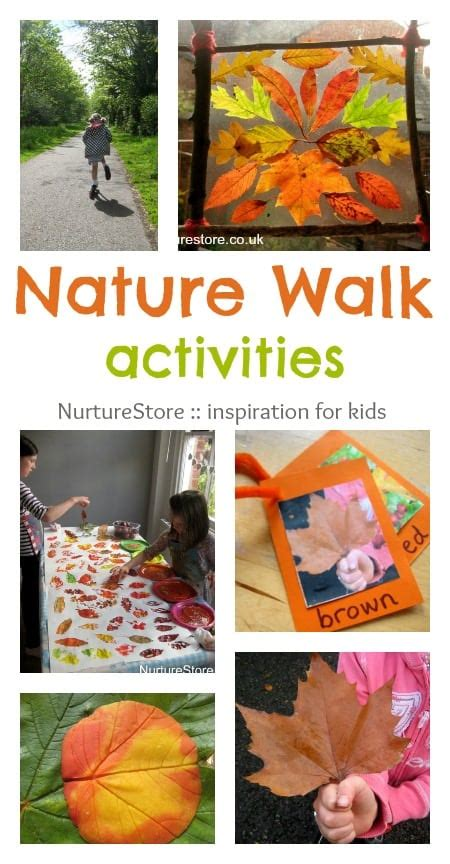 nature walk ideas simple play nurturestore