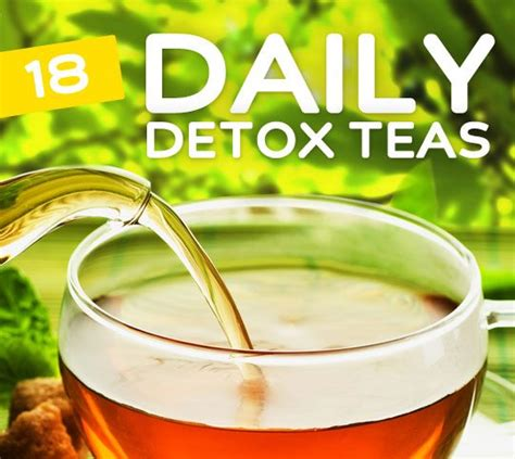 Can I Drink Detox Tea Everyday by 18 Everyday Detox Teas For Daily Cleansing Bembu