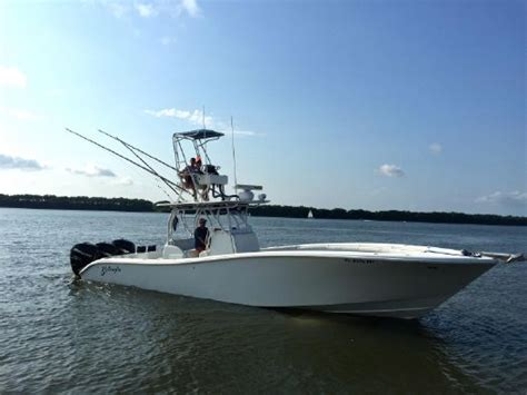 center console offshore boats 2009 used yellowfin offshore center console fishing boat