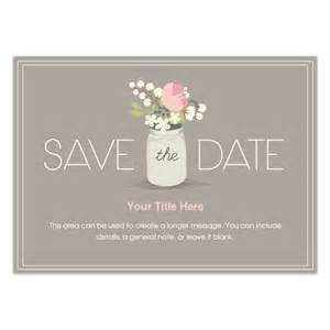 Save The Date Invite Template by Floral Jar Save The Date Invitations Cards On Pingg