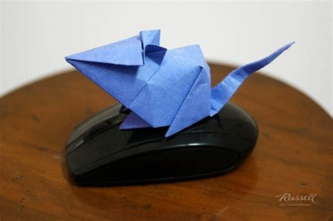 Origami Computer Mouse - 61 best origami animals mouse images on