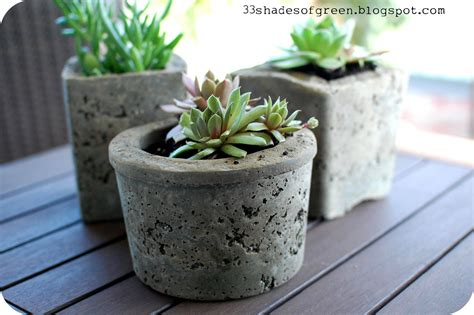 Hypertufa Planter by 33 Shades Of Green Hypertufa Pots
