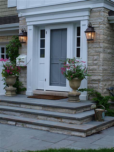 Front Door Stoop Bluestone Front Entry Stoop Flickr Photo