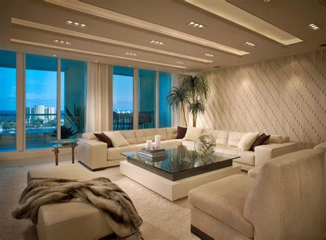 the living room boca contemporary residence boca raton florida contemporary