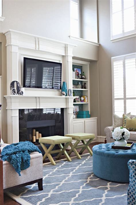 Can I Put A Tv Above A Fireplace by 1000 Images About Tv Above Mantle Ideas On