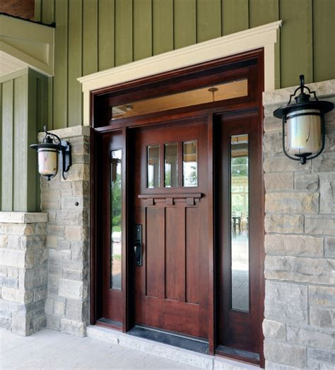 strong  secure solid wood entry doors inhabit blog