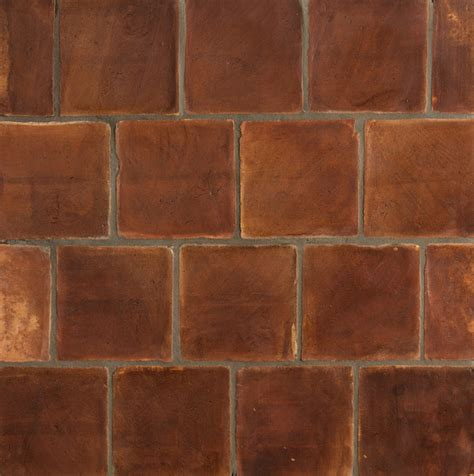 Handmade Terracotta Floor Tiles - handmade terracotta tile mediterranean wall