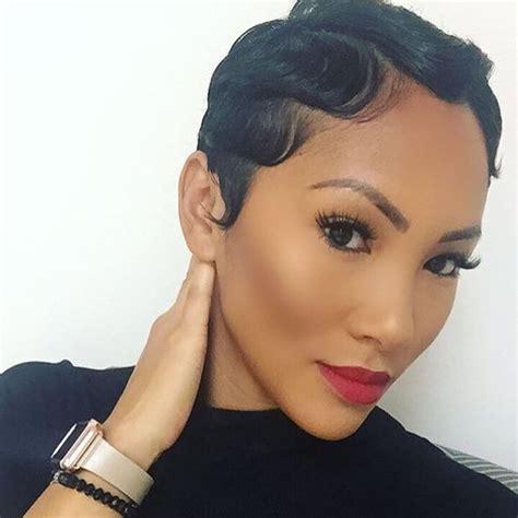glamorous finger wave styles   hair length