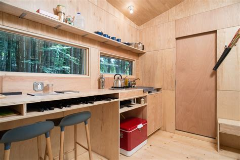 picture perfect off grid tiny house for rent in new york harvard students build a tiny 100 off grid home powered