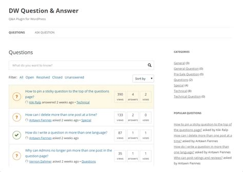 free wordpress themes question answer 10 best free paid question answer forum wordpress
