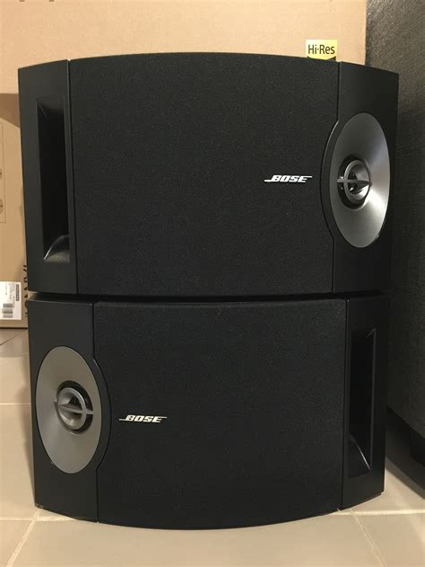 fs bose 201 series v bookshelf speakers hifi audio