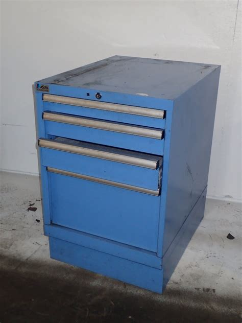 Lista Cabinets Used by Lista Tool Cabinet 306160 For Sale Used N A