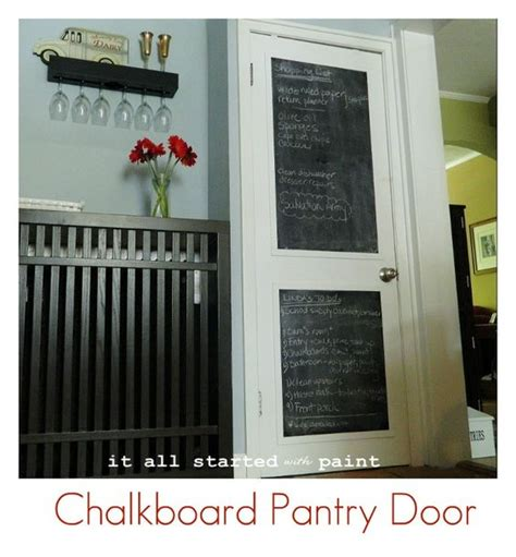 chalkboard paint door chalkboard painted door diy creative ideas