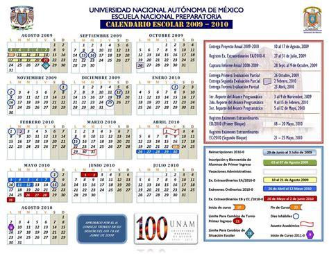 calendarios escolares 2009 2010 escolar mx