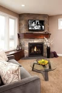 25 best ideas about corner fireplaces on