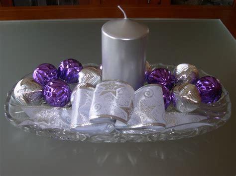 Excelente Decoracion Mesa Halloween #7: Decoracion-navideña-plata-y-morado4.jpg