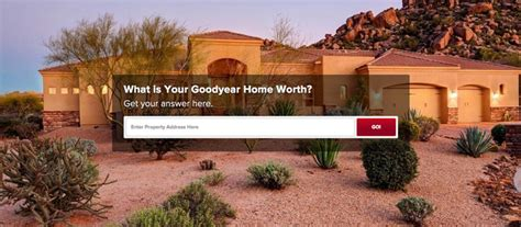 get the value of my goodyear az home