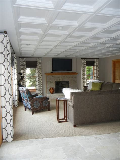coffered ceiling tiles ideas pictures remodel  decor