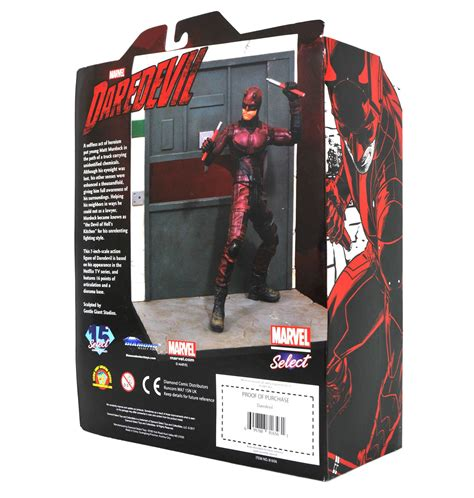 figure packaging marvel select netflix daredevil figure in packaging the