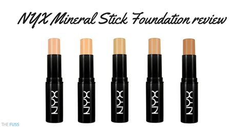 Nyx Foundation Stick nyx mineral stick foundation review the fuss