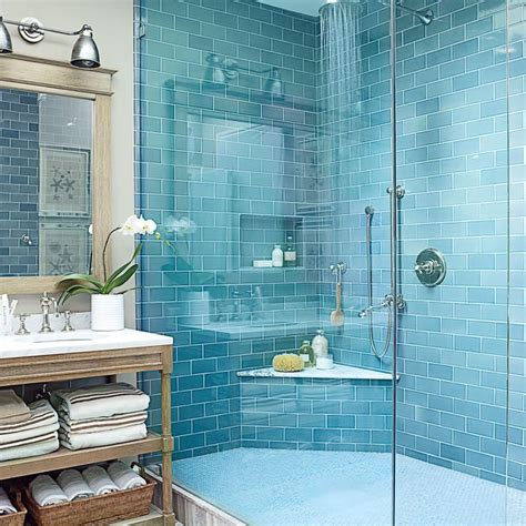 30 Beautiful Beachy Baths House Inspiration