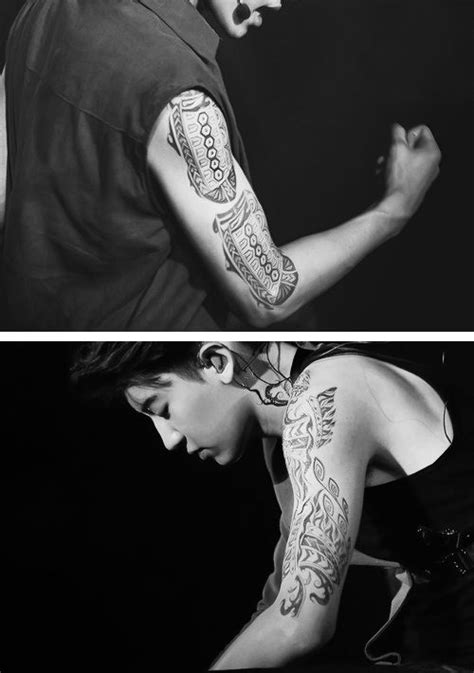 exo tattoo 27 best exo images on tattooed