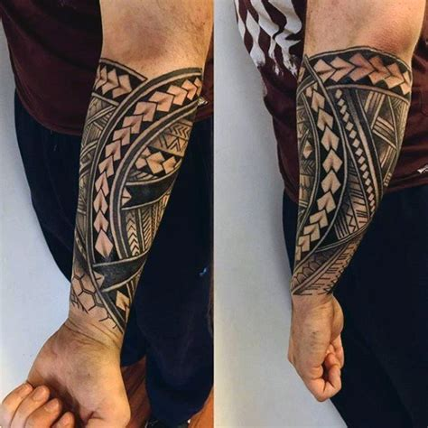 polynesian forearm tattoo 50 unique forearm tattoos for cool ink design ideas